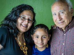 Meet the Team Escuela Popular History Patricia Jose & Daughter